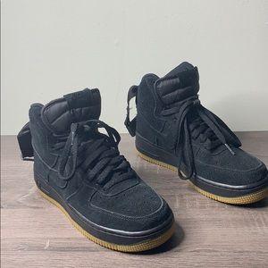 Nike Air Force 1 High 07 LV8 Suede 'Black Gum'